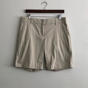 British Khaki Tan Shorts
